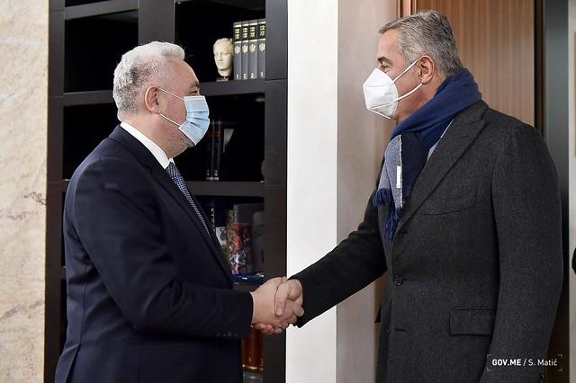 Krivokapić razgovarao sa Đukanovićem, Bečićem i Abazovićem (15.01.2021.)