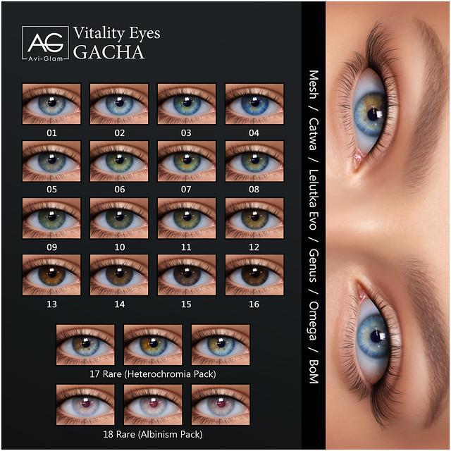 AG. Vitality Eyes GACHA