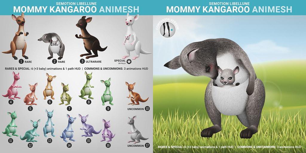 SEmotion Libellune Mommy Kangaroo Animesh
