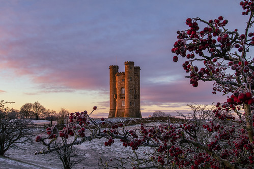 broadwaytower broadway cotswolds castle folly architecture sunrise sky worcestershire winter canon canoneos canon80d canonuk countrylife countryside uk greatbritain cloud nature