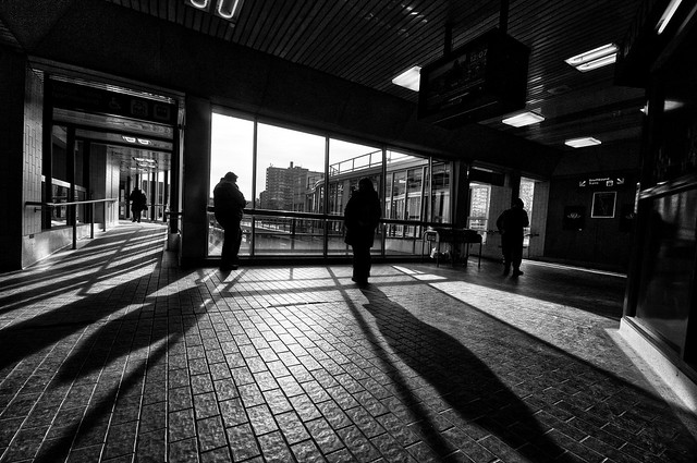 Waiting for the Subway, Davisville Station