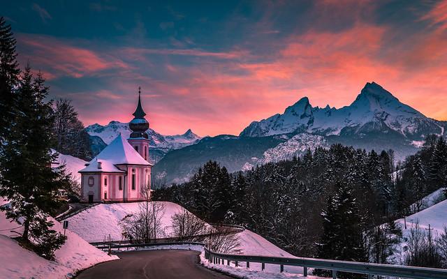 Winters evening