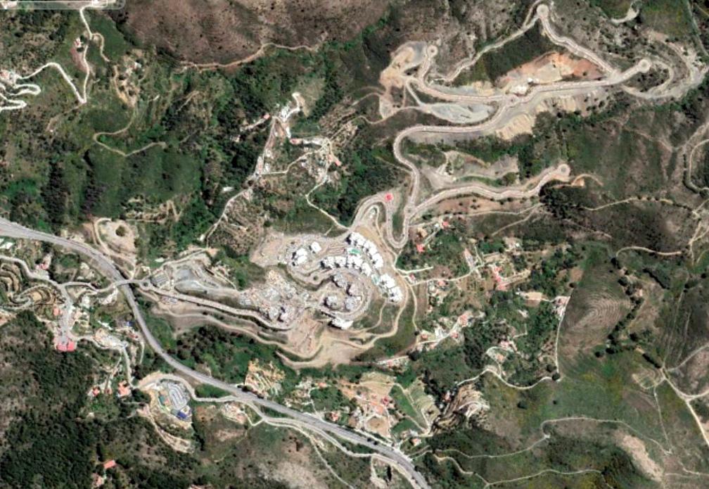 Marbella (norte), málaga, urbas locas colineras, después, urbanismo, planeamiento, urbano, desastre, urbanístico, construcción, rotondas, carretera