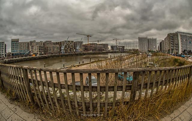 Hamburg - Baakendocks - Hafen City
