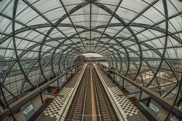 Hamburg - Station - U-Bahn - Elbbrücken