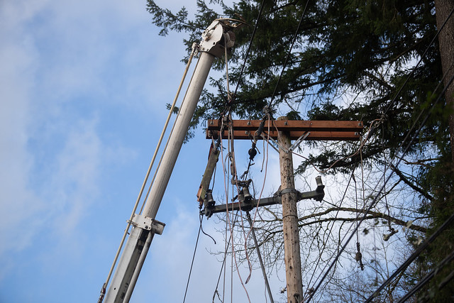 Outage restoration in the Renton Highlands