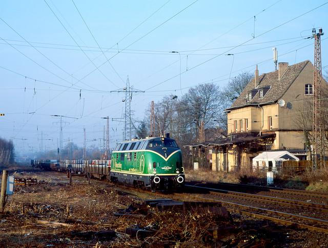 Die Grüne am alten Bahnhof