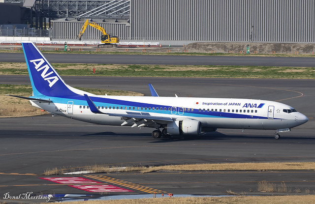 All Nippon Airways 737-800 JA52AN