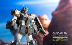 Gundam Fix Figuration #0032 RGM-79SC GM Sniper Custom