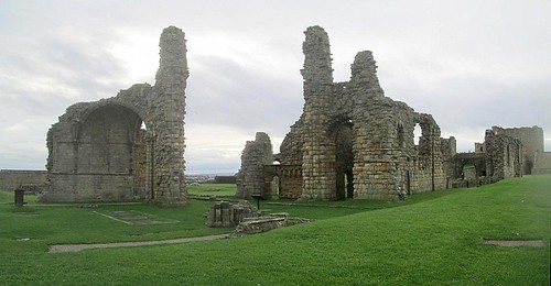 Ruins, Tynemouth Priory