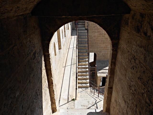 Escaleras de las Torres de Serranos - València