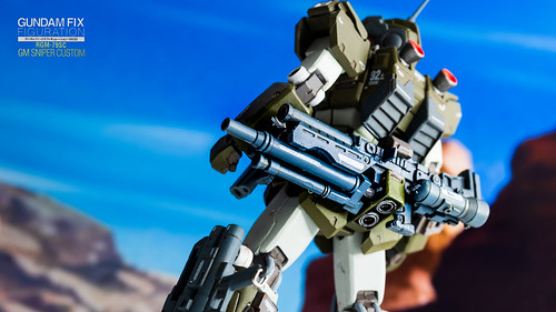 Gundam Fix Figuration #0032 RGM-79SC GM Sniper Custom | by CK_Yu