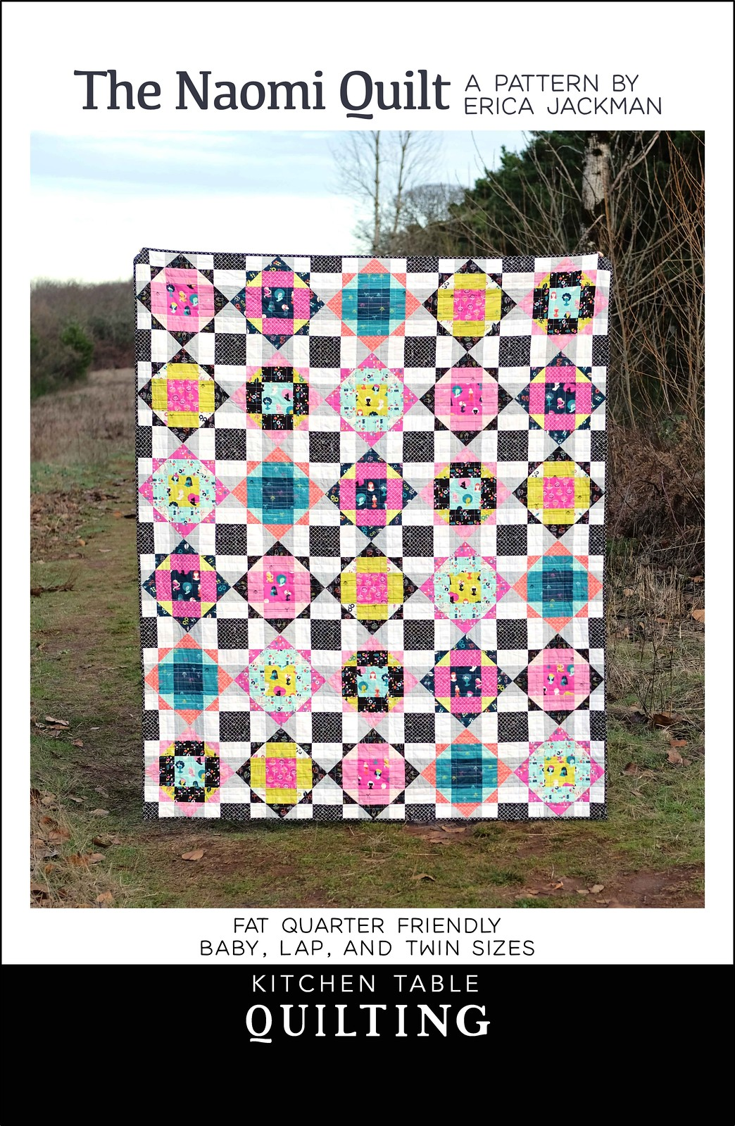 The Naomi Quilt Pattern - Kitchen Table Quilting