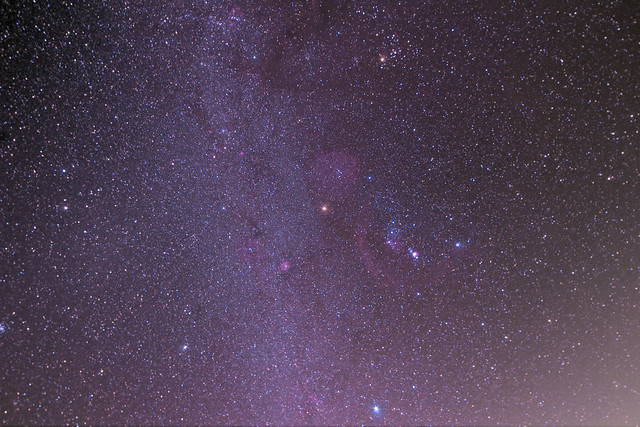 Wide Field Orion