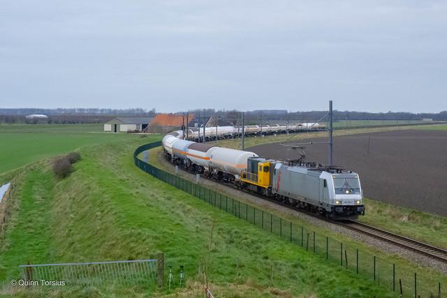 HSL 186 366 + 2454 // Gasketeltrein 41781 // Lewedorp, Jonker Fransweg // 15 januari 2021