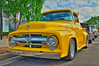 Our 1956 Ford F-100 PU Canon 60D-24X105mm