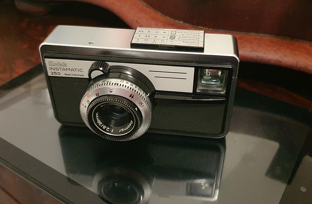 Camera of the day - Restored Kodak Instamatic 250
