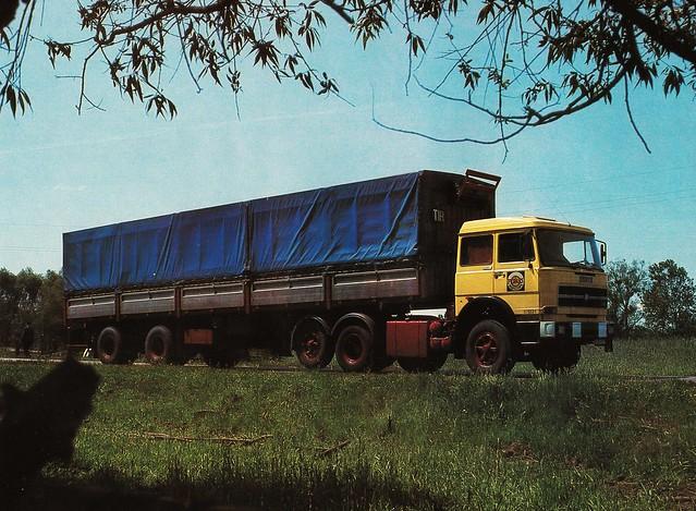 Postcard Fiat 220NT35 6x2 Pekaes Warszawa 1978a