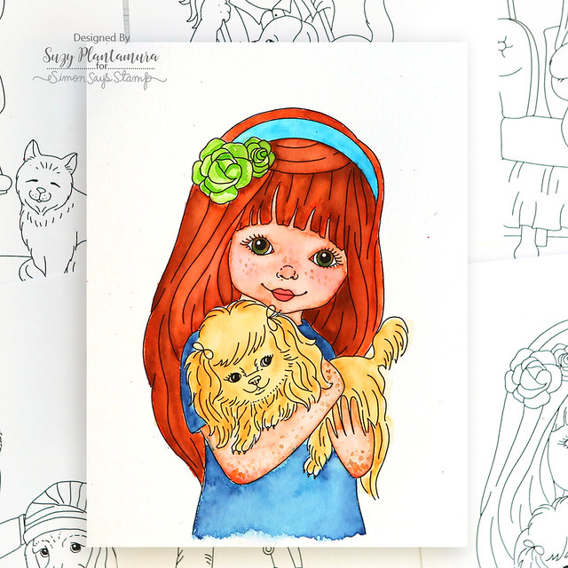 Chloe's Girl with Pet