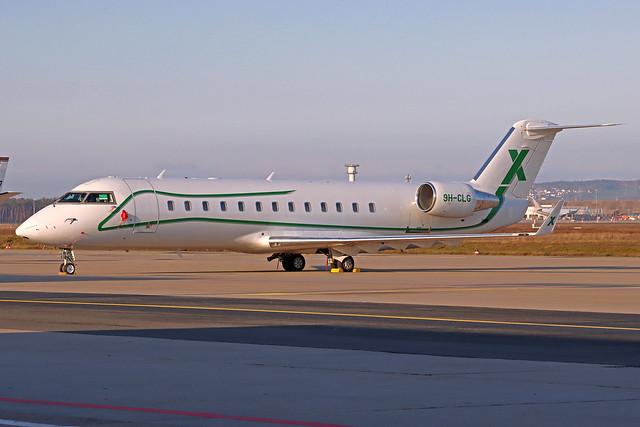 Air X Charter Canadair Challenger 850 9H-CLG FRA 09-01-21