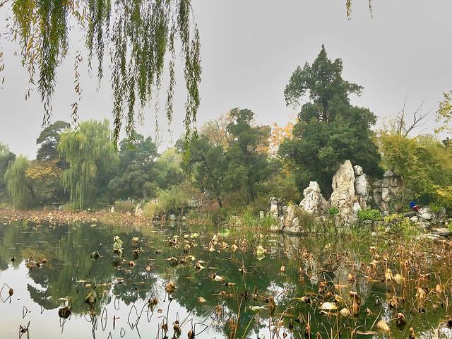 Tshingua University Lake - Beijing China