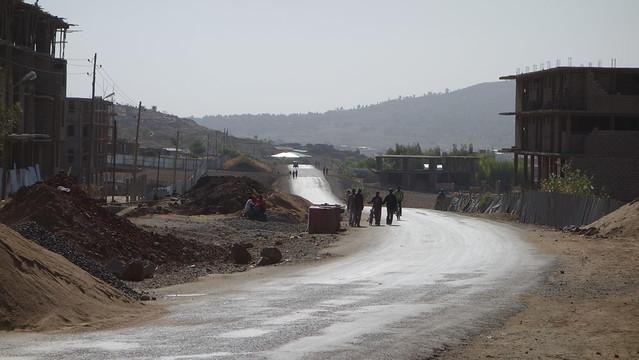 Morning in Axum