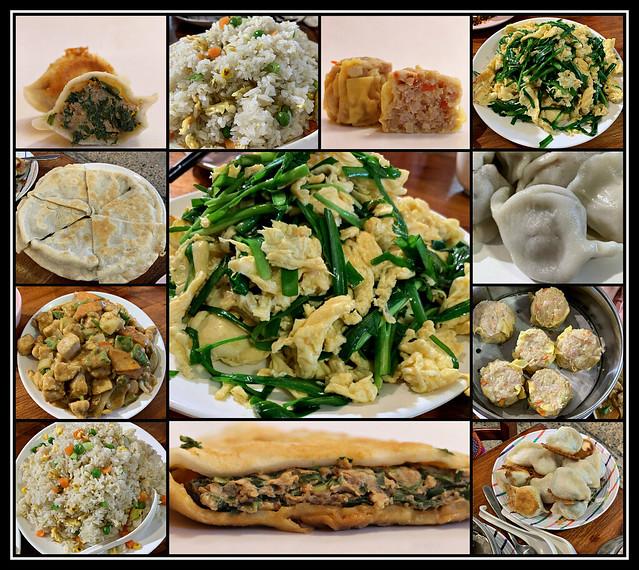 2021: Dumpling Noodle House collage