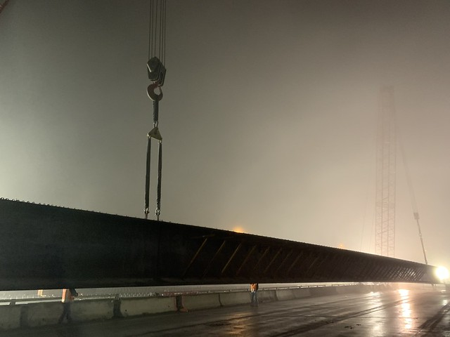 Longest prestressed concrete girder in United States