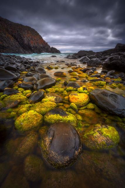 Green Boulders