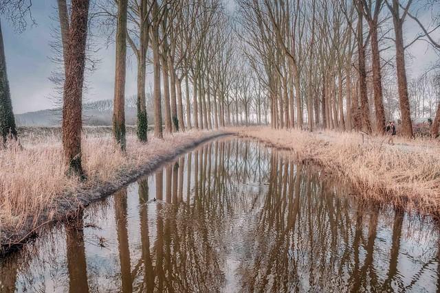 Het Zuidervaartje in winter