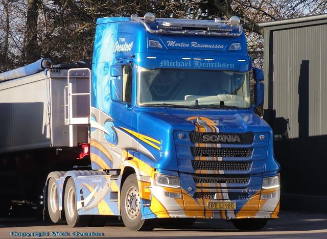 Top of the range rare in EU Next Generation Scania TS730 v8 BT12980