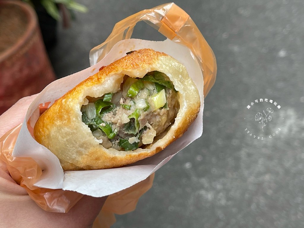 三重,三重小吃,三重美食,三重蔥油餅,信義街豬肉餡餅 @陳小可的吃喝玩樂