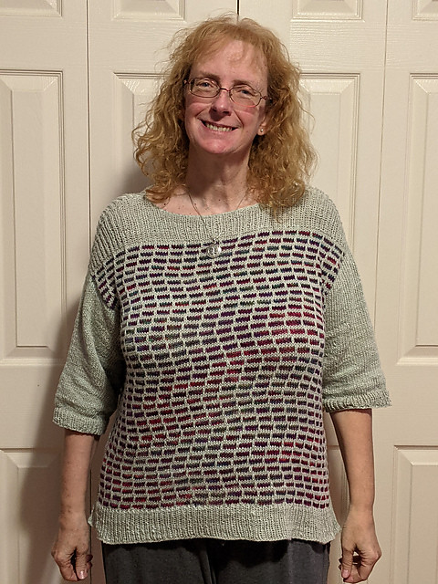 Linda (lmcnorton) finished her Tiny Dancer by Mary Annarella.