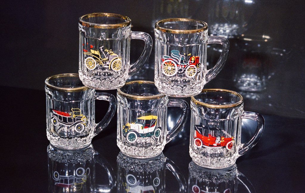 Day 362 (27th Dec) - Vintage Glasses