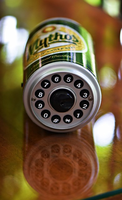 beer-can phone
