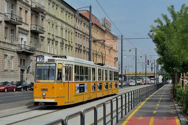 Budapest, Bem rakpart, BKV 1475