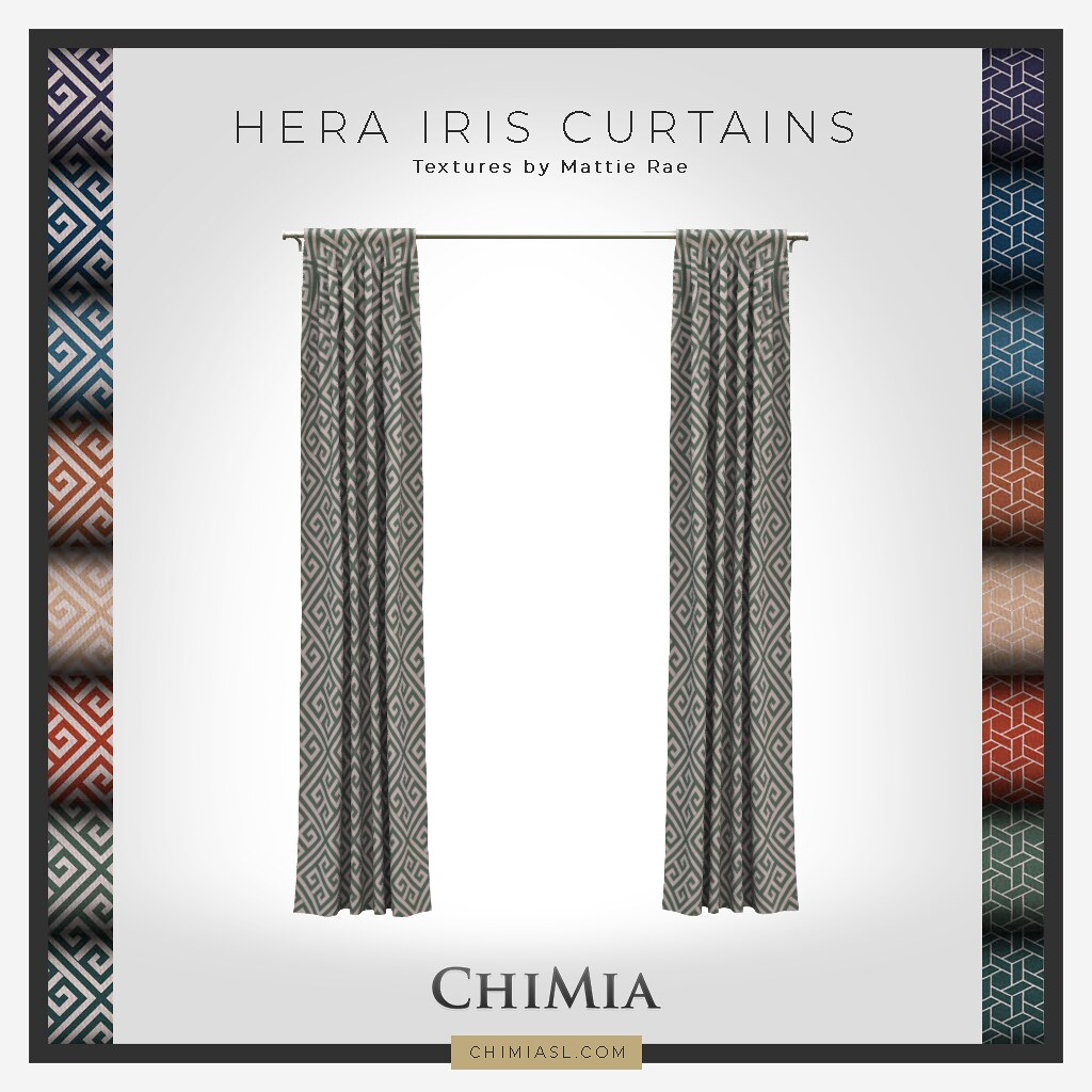 Hera Iris Curtains for TSS 16 Jan 2021 by ChiMia