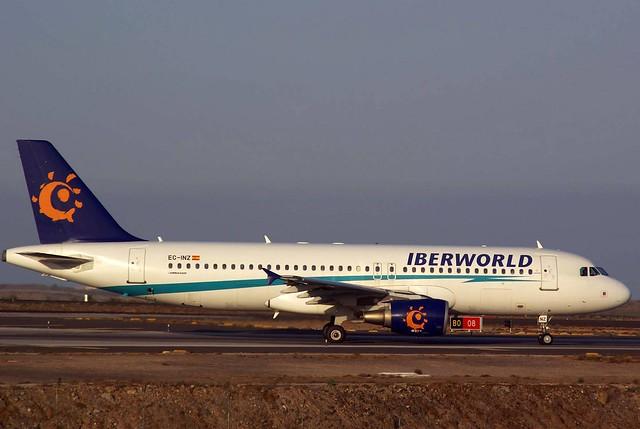 A320 EC-INZ Iberworld
