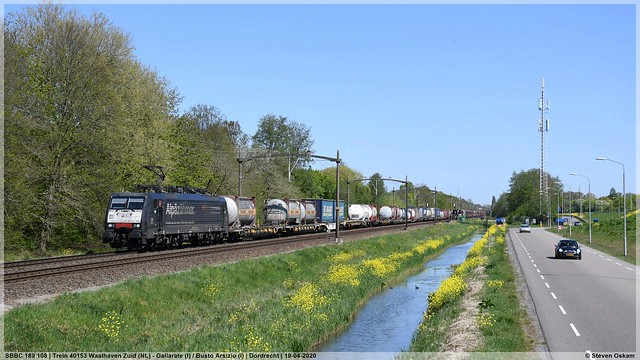 SBBC 189 108 | Dordrecht | 19-04-2020