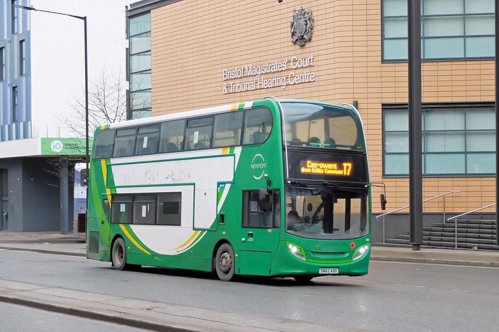 Newport Bus SN62 AOO, Bristol