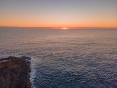 Sunrise Seascape at Kiama Blow Hole