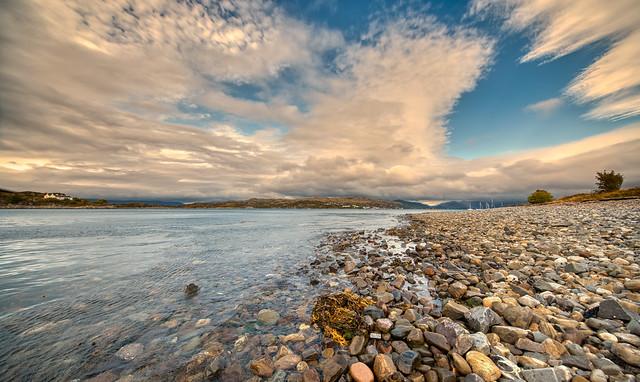 Kyle Akin, near the Skye Bridge, Scotland.