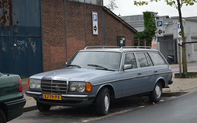 1983 Mercedes Benz 230TE XJ-79-PX