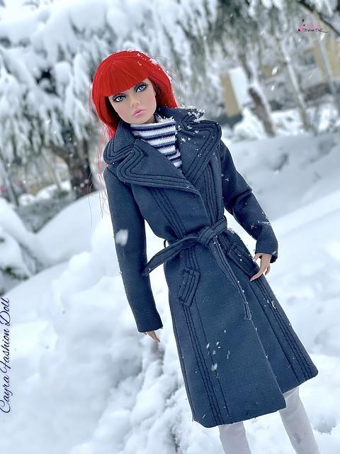 Posting under the snow