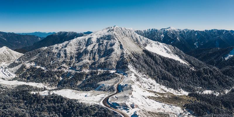 合歡山東峰 Hehuan Mountain east peak