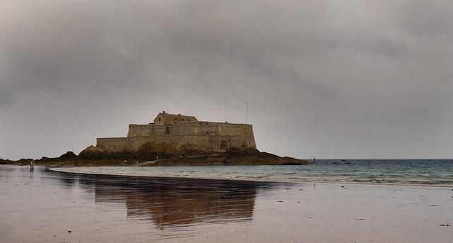 France - Bretagne - Saint Malo - Fort National