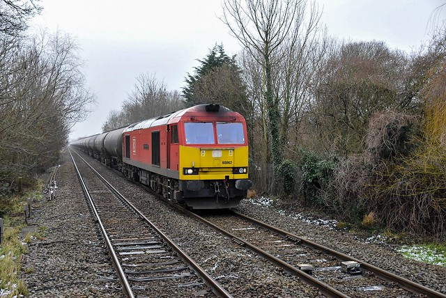 In the bleak midwinter - 60062 with 6E54