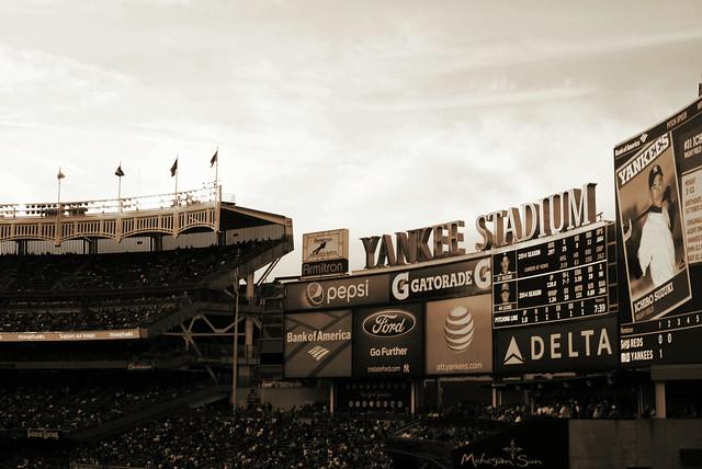 Yankee Stadium - Billboards.