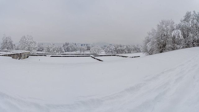 Winter in Zurich - panorama 2/3