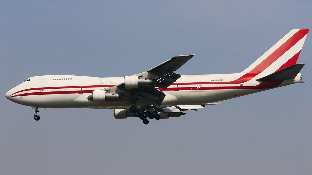 Boeing 747-222B(SF) | Aerostan | EX-47001